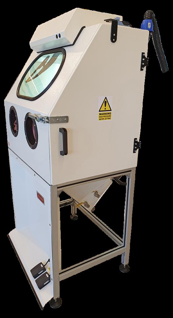 J1000 Wet Blaster Machine Allard Engineering Vapour Blasting Parts Cleaning